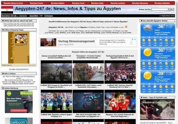 Aegypten-24/7.de - News, Infos & Tipps zu Ägypten