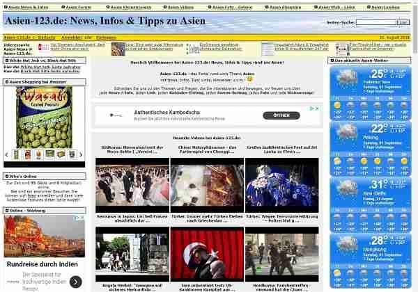 Asien-123.de - News, Infos & Tipps zu Asien