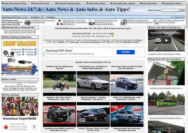 Auto-News-24/7.de - Portal rund um's Thema Auto / Kfz
