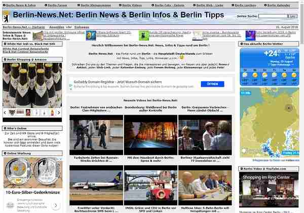 Berlin-News.net - Portal rund um Berlin - die Hauptstadt Deutschlands