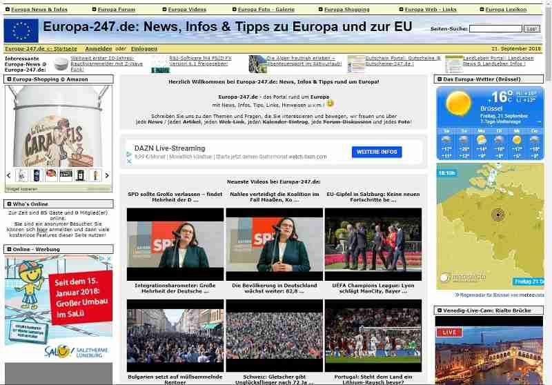 Europa-24/7.de - News, Infos & Tipps zu Europa