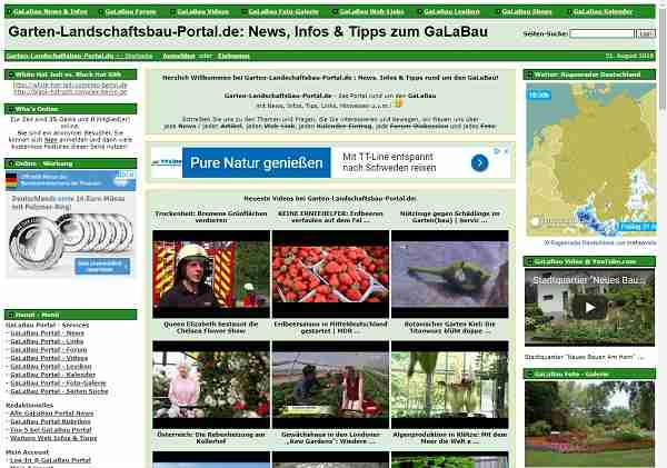 Garten-Landschaftsbau-Portal.de: News, Infos & Tipps zum GaLaBau