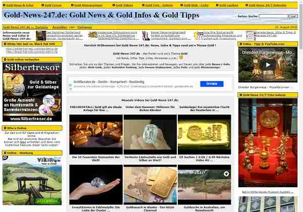 Gold-News-24/7.de - News, Infos & Tipps rund um's Thema Gold