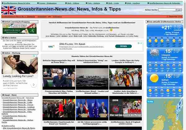 Grossbritannien-News.de - News, Infos, Tipps rund um Großbritannien