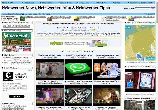 Heimwerker-Infos.de - News, Infos & Tipps rund um's Heimwerken