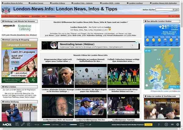 London-News.info -  News, Infos & Tipps rund um London