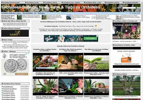 Orchideen-Seite.de - News, Infos & Tipps zu Orchideen