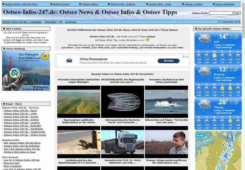 Ostsee-Infos-24/7.de - News, Infos & Tipps rund um die Ostsee