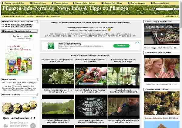 Pflanzen-Info-Portal.de - News, Infos & Tipps zu Pflanzen