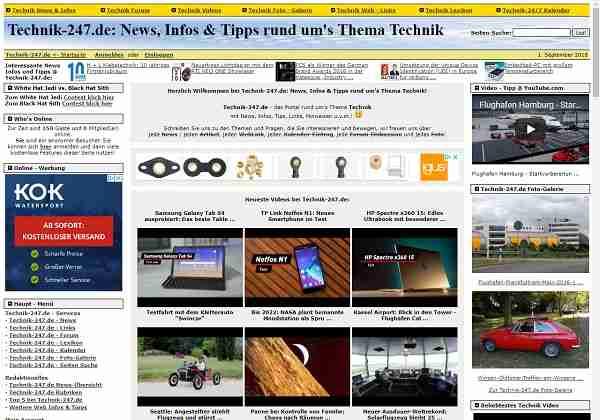Technik-24/7.de - News, Infos & Tipps rund um's Thema Technik