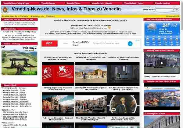 Venedig-News.de -  News, Infos & Tipps rund um Venedig